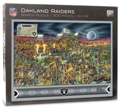 Oakland Raiders Joe Journeyman Puzzle