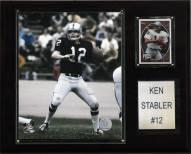 """Oakland Raiders Ken Stabler 12 x 15"""" Player Plaque"""