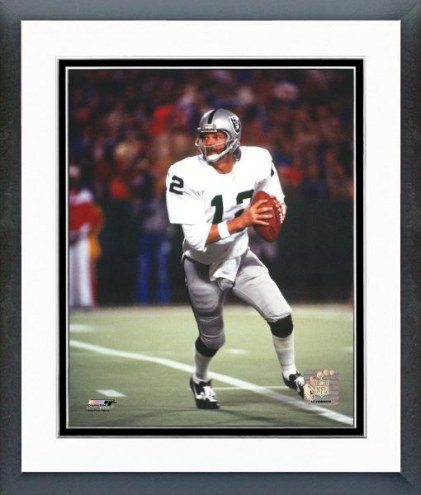 Oakland Raiders Ken Stabler Framed Photo