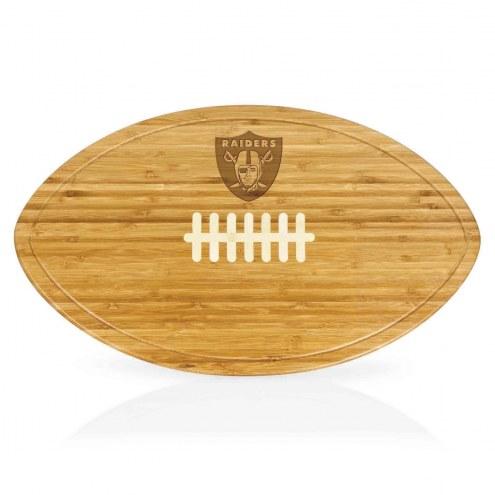 Oakland Raiders Kickoff Cutting Board