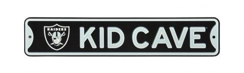 Oakland Raiders Kid Cave Street Sign