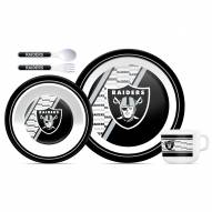 Oakland Raiders Kid's Dinner Set