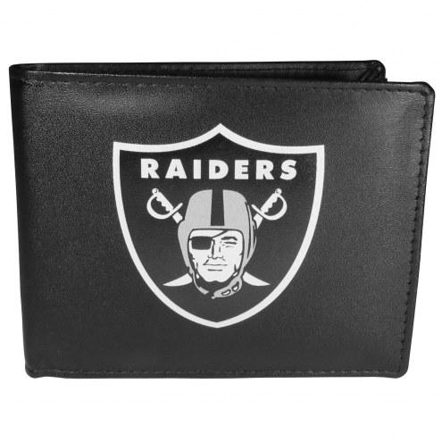 Las Vegas Raiders Large Logo Bi-fold Wallet