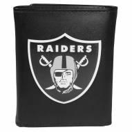 Las Vegas Raiders Large Logo Tri-fold Wallet
