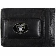 Las Vegas Raiders Leather Cash & Cardholder