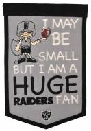 Oakland Raiders Lil Fan Traditions Banner