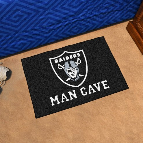Las Vegas Raiders Man Cave Starter Mat