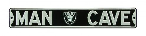 Oakland Raiders Man Cave Street Sign