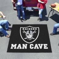 Oakland Raiders Man Cave Tailgate Mat