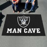 Oakland Raiders Man Cave Ulti-Mat Rug
