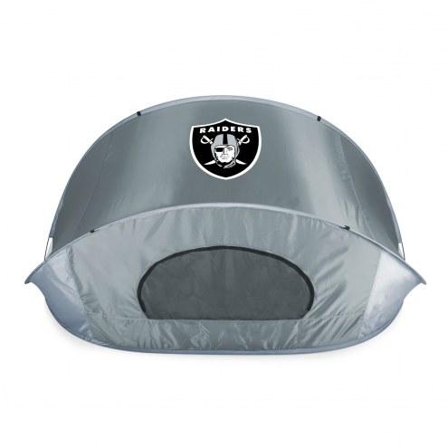 Oakland Raiders Manta Sun Shelter