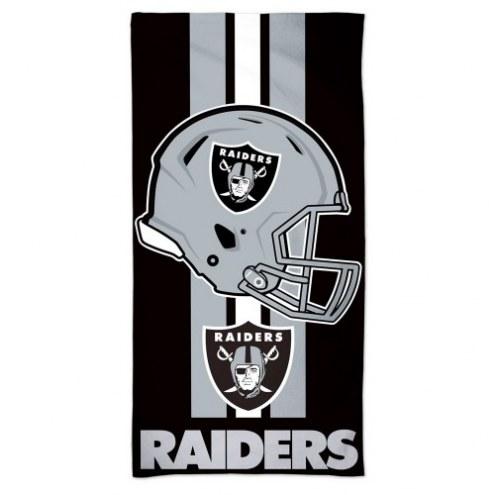 Oakland Raiders McArthur Beach Towel