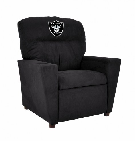 Oakland Raiders Microfiber Kid's Recliner