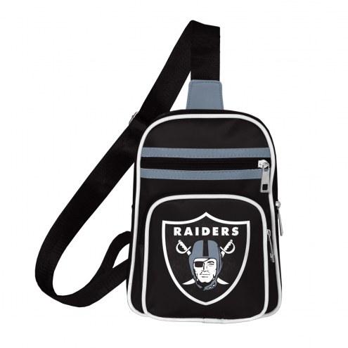 Oakland Raiders Mini Cross Sling Bag