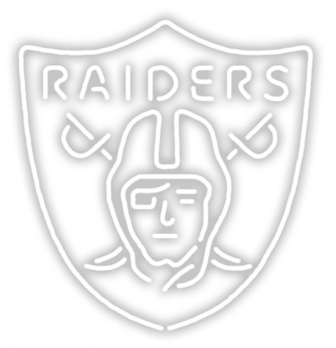 Oakland Raiders Neon Light