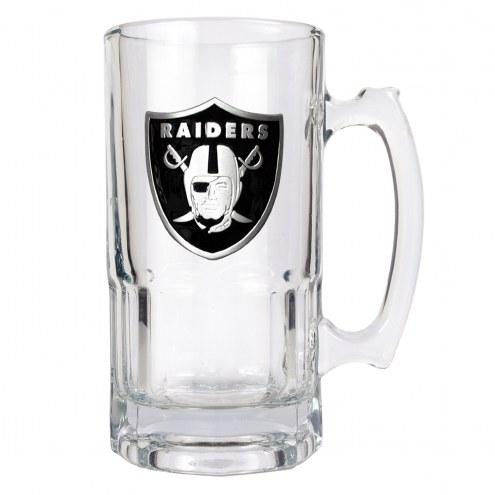 Las Vegas Raiders NFL 1 Liter Glass Macho Mug