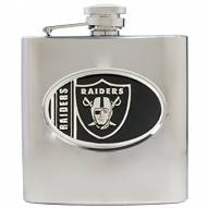 Oakland Raiders NFL 6 Oz. Stainless Steel Hip Flask