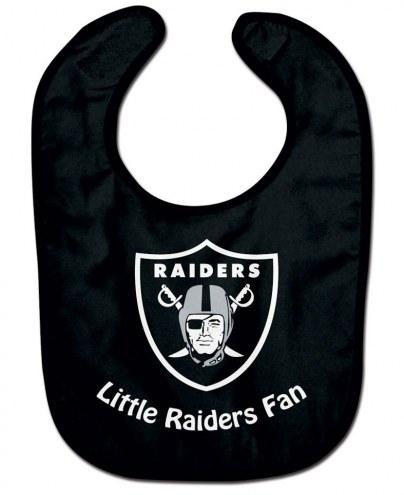 Oakland Raiders NFL All Pro Little Fan Baby Bib