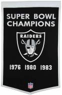 Winning Streak Oakland Raiders NFL Dynasty Banner