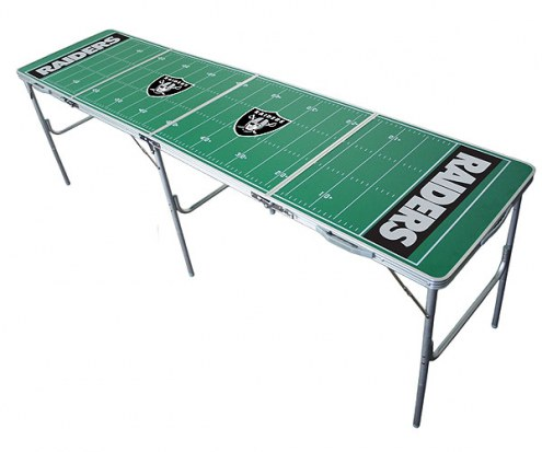 Oakland Raiders NFL Tailgate Table