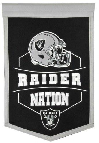 Oakland Raiders Revolution Traditions Banner
