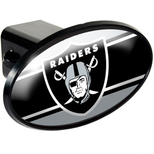 Oakland Raiders NFL Trailer Hitch Cover