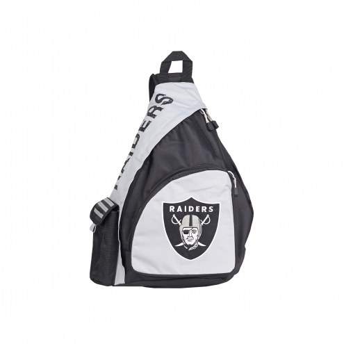 Oakland Raiders Leadoff Sling Backpack
