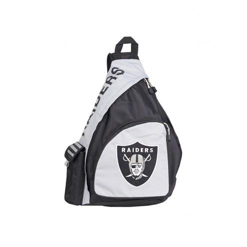 Oakland Raiders Leadoff Sling Backpack