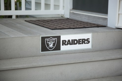 Oakland Raiders Outdoor Step Graphic