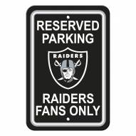 Oakland Raiders Parking Sign
