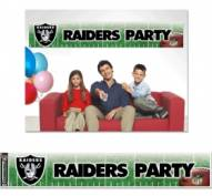 Las Vegas Raiders Party Banner