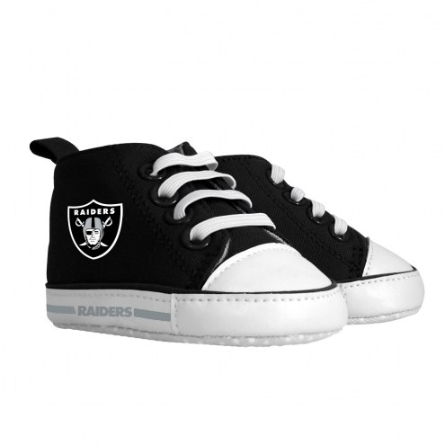 Oakland Raiders Pre-Walker Baby Shoes