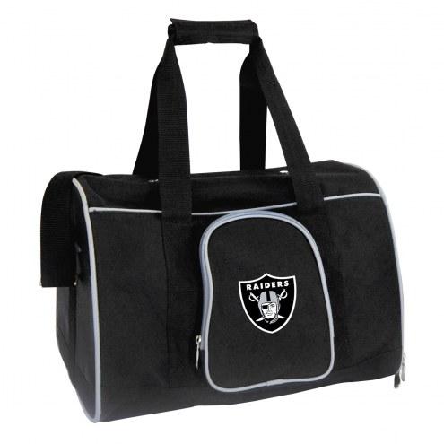 Las Vegas Raiders Premium Pet Carrier Bag