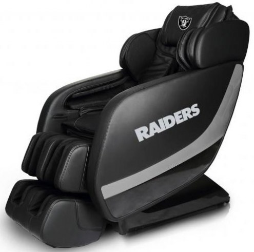 Oakland Raiders Professional 3D Massage Chair