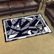 Las Vegas Raiders Quicksnap 4' x 6' Area Rug