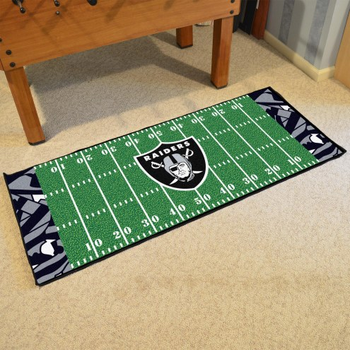 Oakland Raiders Quicksnap Runner Rug