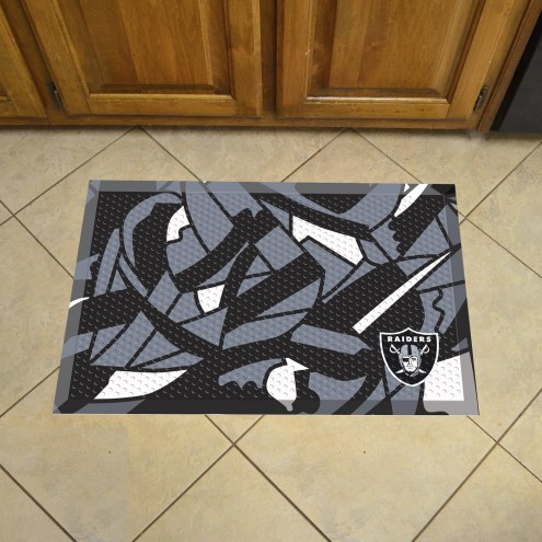 Las Vegas Raiders Quicksnap Scraper Door Mat