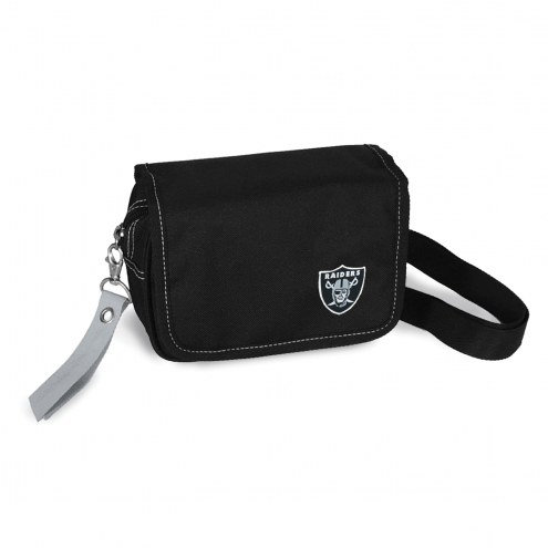 Las Vegas Raiders Ribbon Waist Pack Purse
