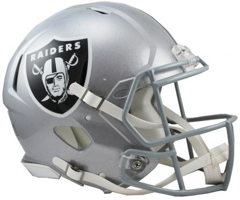 Oakland Raiders Riddell Speed Full Size Authentic Football Helmet