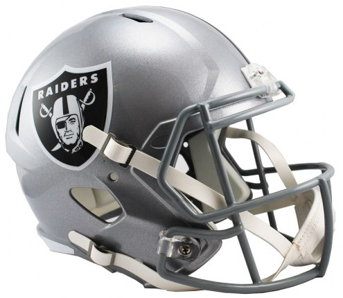 Oakland Raiders Riddell Speed Collectible Football Helmet
