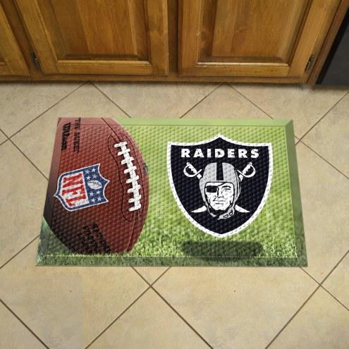Oakland Raiders Scraper Door Mat