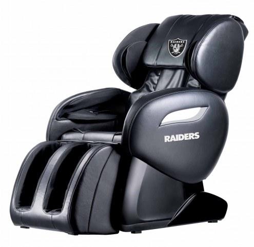Oakland Raiders Shiatsu Zero Gravity Massage Chair
