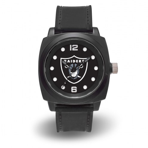 Oakland Raiders Sparo Men's Prompt Watch