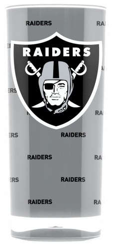 Oakland Raiders Square Tumbler
