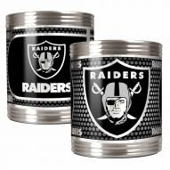 Oakland Raiders Stainless Steel Hi-Def Coozie Set