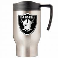 Oakland Raiders Stainless Steel Travel Mug