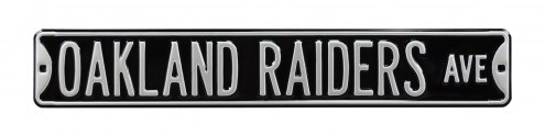 Oakland Raiders Street Sign