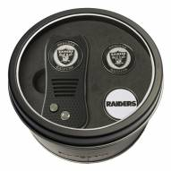 Las Vegas Raiders Switchfix Golf Divot Tool & Ball Markers