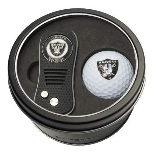 Oakland Raiders Switchfix Golf Divot Tool & Ball