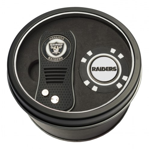 Las Vegas Raiders Switchfix Golf Divot Tool & Chip